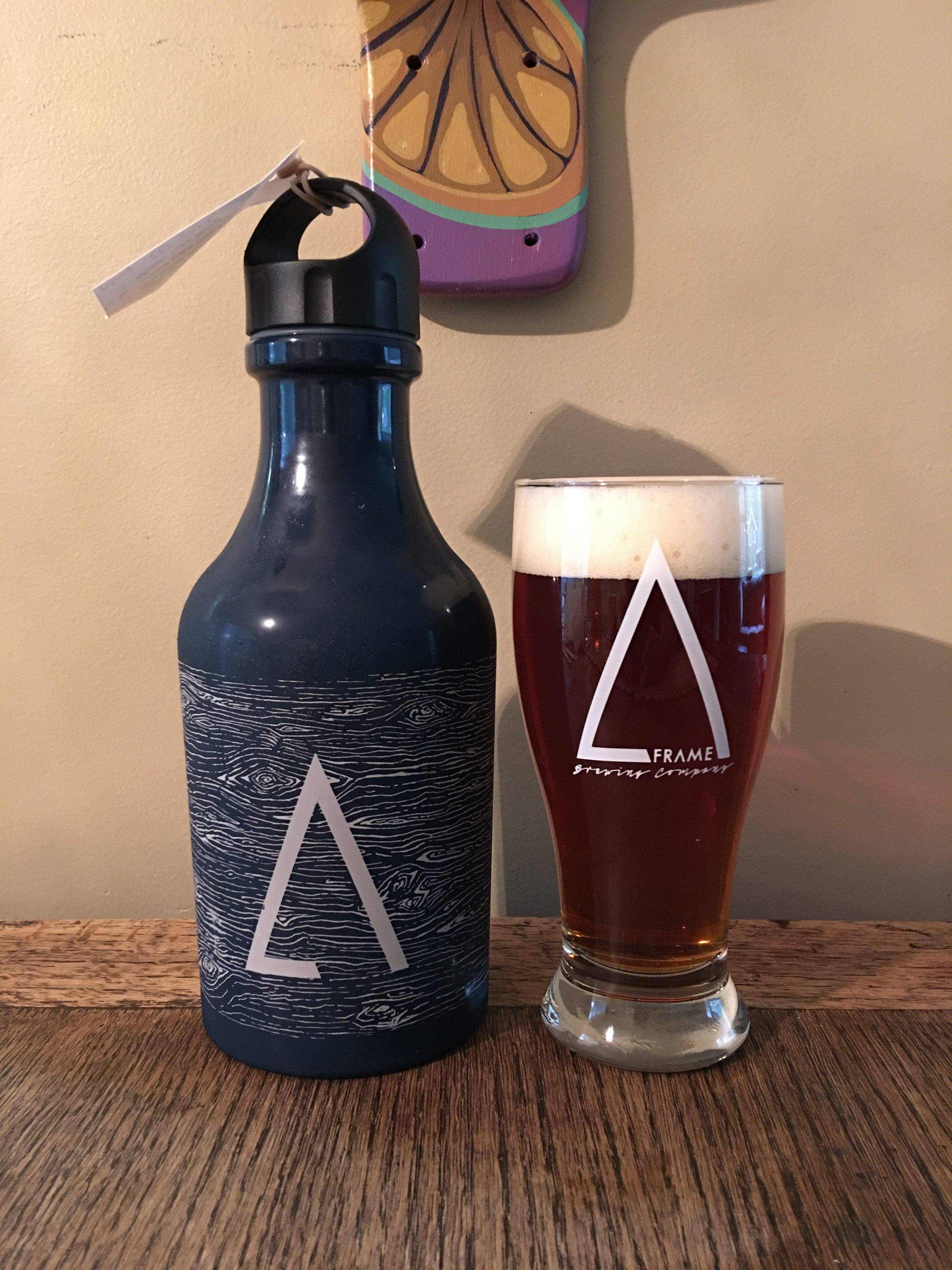 Sproat Lake, a dry-hopped pale ale by A-Frame Brewing