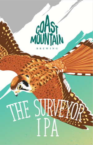 The Surveyor IPA by Coast Mountain Brewing