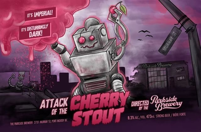 The Parkside Brewery's Attack of the Cherry Stout…