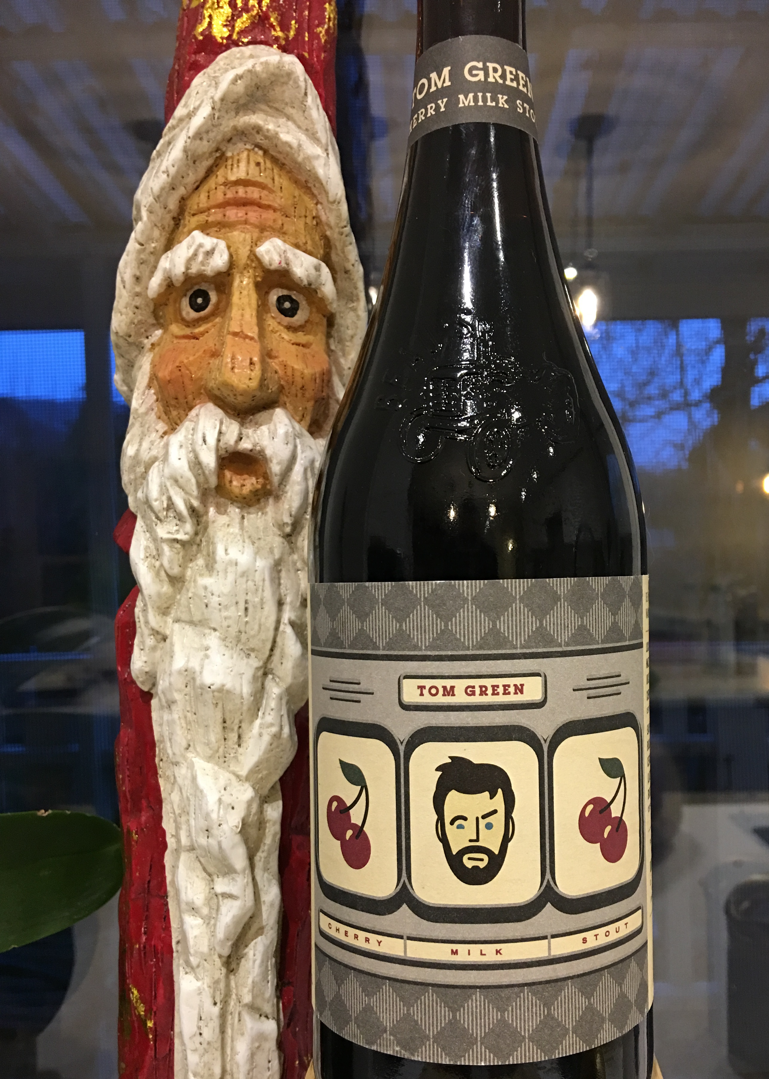 The Tom Green Cherry Milk Stout…