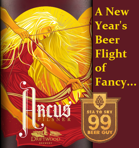 Arcus, a Pilsner by Driftwood Brewing