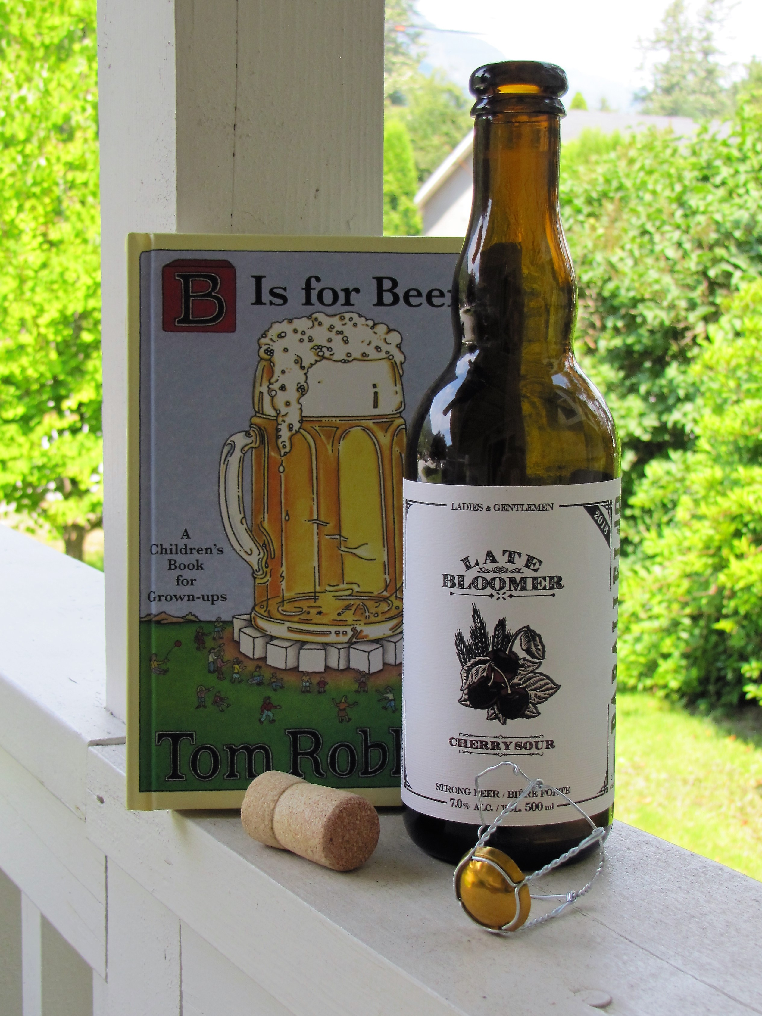 B is for Books, Beer and Bloomer